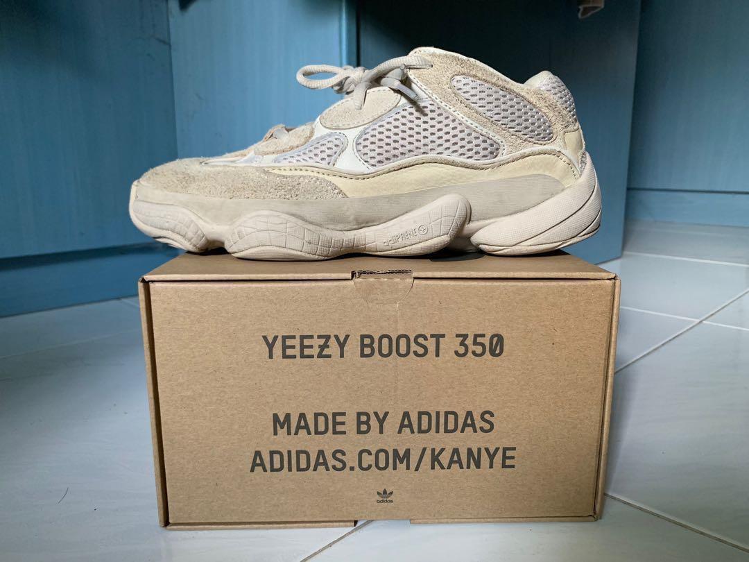 new style d9bcb 35834 Yeezy 500 Desert Rat / Blush Adidas, Men's Fashion, Footwear ...