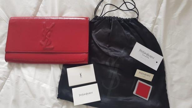 YSL Clutch 100% Authentic