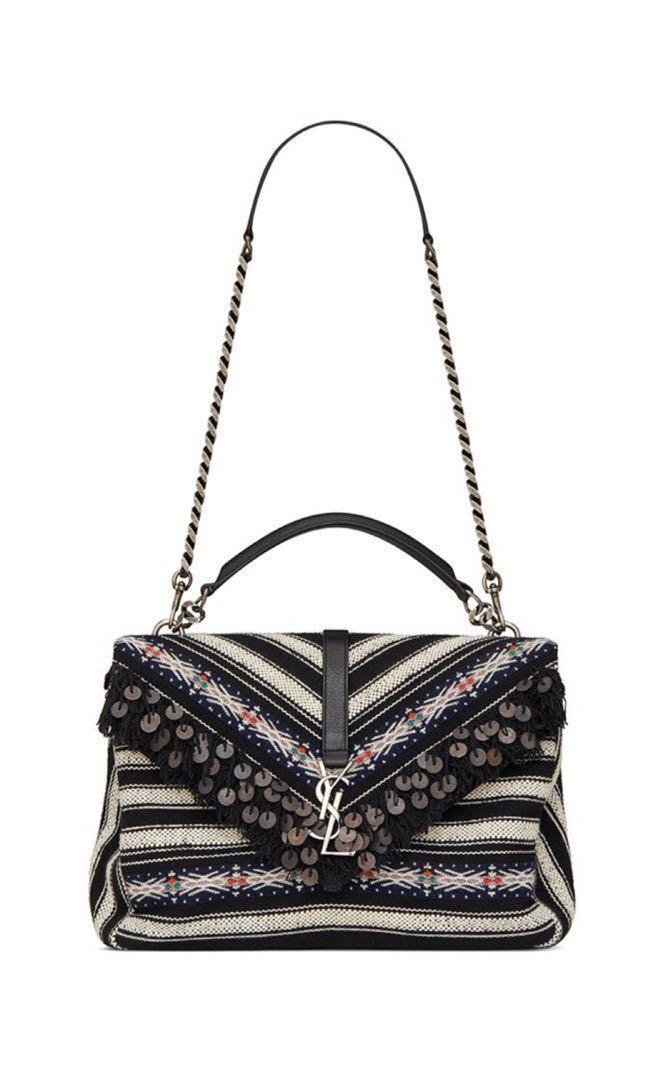 fdc3d82219 YSL Saint Laurent College Bag, Luxury, Bags & Wallets, Handbags on ...