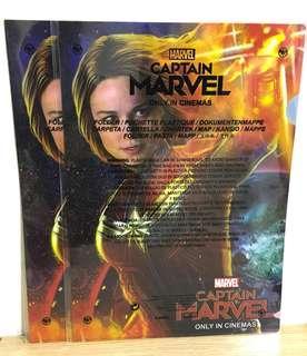 🌟Captain Marvel Marvel隊長 戲院版 Folder 文件夾