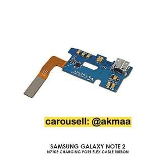 Samsung Galaxy Note 2 Charging Port Flex Cable Ribbon #ME150