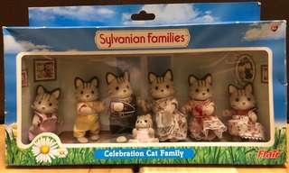 森林家族 Sylvanian Families Celebration Cat Family