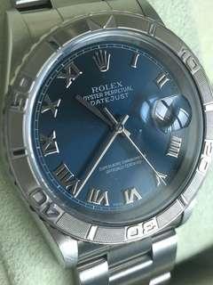 Rolex Datejust 16264 Turn-O-Graph Thunderbird