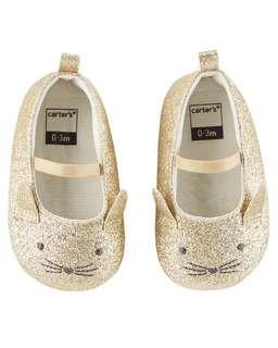 全新 carter's 9~12m BB女鞋