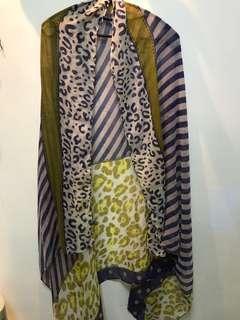 圍巾、絲巾