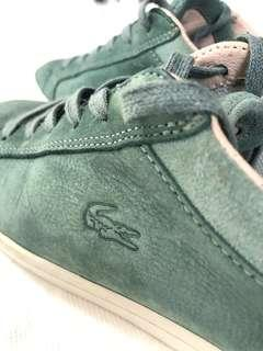 Lacoste Straightset Suede Sneakers (Size UK4)