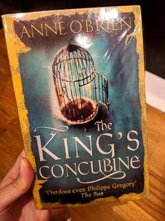 🚚 The King's Concubine by Anne O'Brien