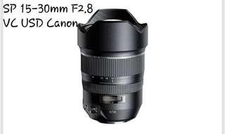 🚚 Tamron SP 15-30mm 2.8 VC USD CANON
