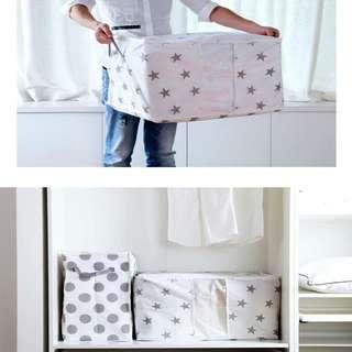 Foldable Storage Bag Clothes Or Blanket