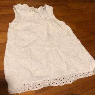 3-4T NEW Zara White Lace top toddler