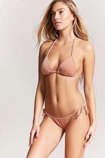 Brand New Velvet String Bikini