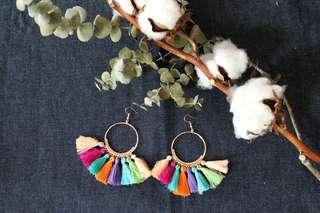 [Instock] Althea Tassels Earrings