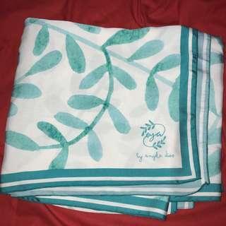 Eya Collection Green Scarf Shawl Syal Pashmina