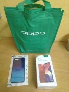 Oppo A3S Red 32/3GB - Original Malaysia Set
