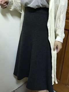 🚚 修身七分長裙