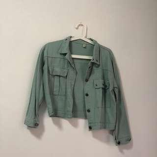 🚚 Teal Turquoise Aquamarine Jacket