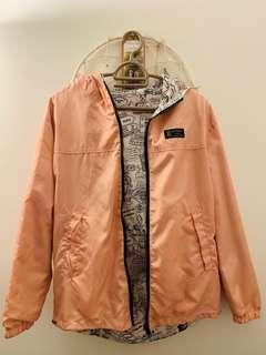 Pink reversible jacket