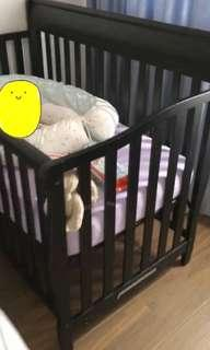 Baby Cot ( sealy mattress and bed sheet x2 included)