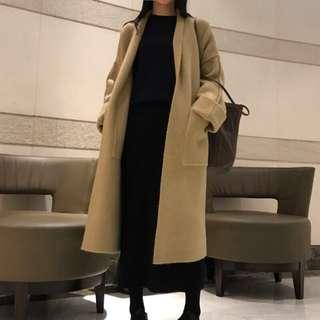 Studiodoe黃駝色針織大衣