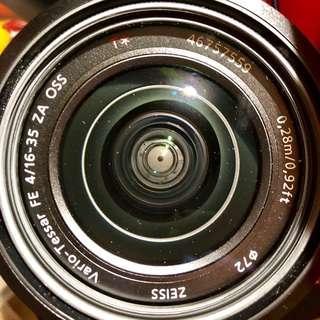 Sony Zeiss 16-35F4
