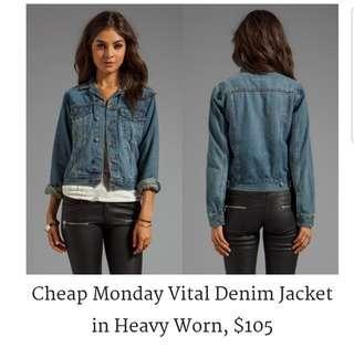 Cheap Monday Jean Jacket