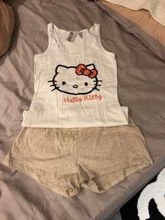 🚚 H&M..kitty睡衣
