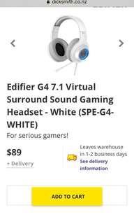 G4 7.1 headphones
