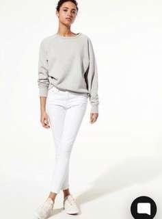 Citizens of Humanity Rocket Crop White- Aritzia