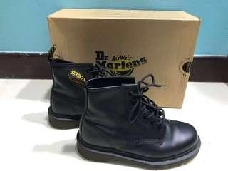 Dr Martens Boots Black Smooth