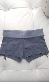 Lululemon grey shorts, size 6