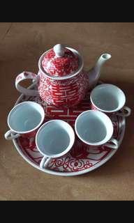 婚後物資 敬茶茶具