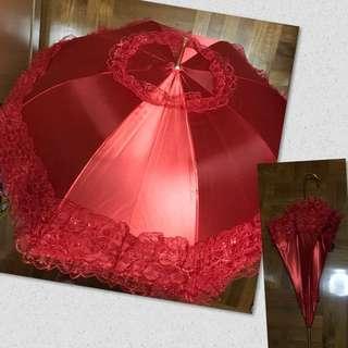 婚後物資 紅傘