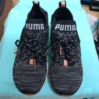 全新 Puma ignite evoknit lo 玫瑰金 36 37 女裝 波鞋
