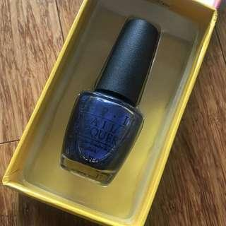 OPI Nail polish: Into the Night with gift box