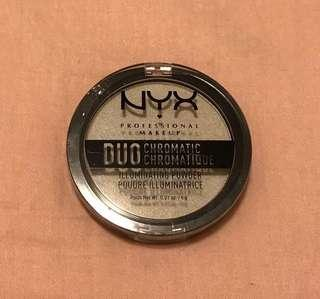 NYX Duo Chromatic Illuminating Powder ~ Twilight Tint 01