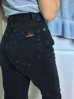 Vintage Manager Slim Fit Mom Jeans