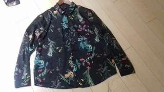 ICONE Floral Long Sleeve Blouse