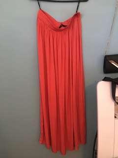 Coral sportsgirl skirt