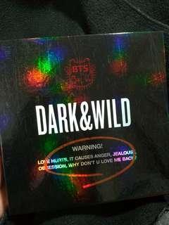 🚚 防彈少年團bts專輯 dark&wild
