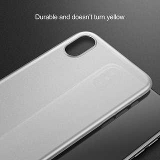 iPhone XS Ultra Thin Case or Barecase