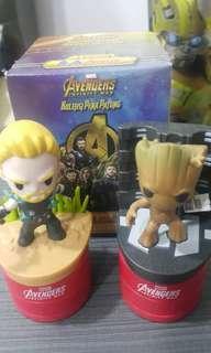 Tesco Avengers Mighty Thor & Groot