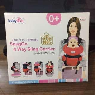 Babylove 4 way sling carrier