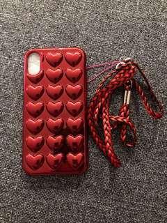 IPHONE X HEART CASE #swapAU