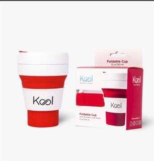 NEW Kool Foldable Cup
