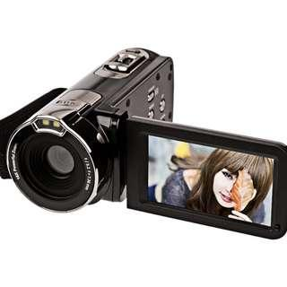 Digital Life 🔥🔥🔥 Digital Camera Camcorders Digital Life HD Recorder 1080P 24 MP 16X Powerful Digital Zoom Video Camcorder 2.7 Inch LCD Stabilization with 270 Degree Rotation Screen Camera Bag Lithium Battery(312P-Black)