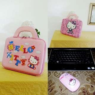 Sanrio Hello Kitty Laptop Bags and Mouse