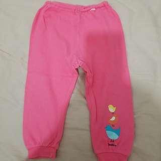 韓國製長褲(小鳥)