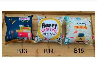 Happy teachers day Cushion Pillow
