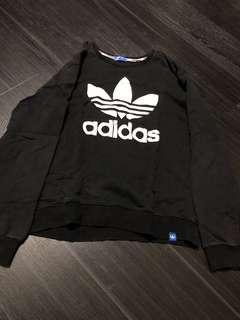 🚚 Black adidas Pullover