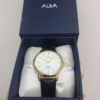 Alba watch strap hitam
